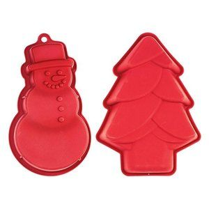 Holiday Cake Pans Set of 2